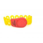 Электронные замки Ключ для электронного замка красный с желтым (артикул 0423МЕ) цена в розницу 148 ру замок.su (изображение №1)