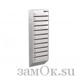 Почтовые ящики Ящик почтовый ЭК-11 б/з (артикул ЗТЭК11) цена в розницу 2846 ру замок.su (изображение №1)
