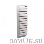 Почтовые ящики Ящик почтовый ЭК-12 б/з (артикул ЗТЭК12) цена в розницу 2936 ру замок.su (изображение №1)