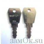 Замки Euro Locks Ключ мастер для замка С559 и 0801 (артикул MAS\S25A/98) цена в розницу 768.17 ру замок.su (изображение №1)