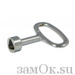Щитовые замки Ключ для замка 705-3/4 (артикул 0087) цена в розницу 27 ру замок.su (изображение №1)