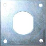 Фурнитура Стопорная пластина В4141-0001 (артикул 0810) цена в розницу 12 ру замок.su (изображение №1)