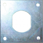 Фурнитура Стопорная пластина В4141-0001 (артикул 0810) цена в розницу 13 ру замок.su (изображение №1)