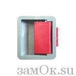 Фурнитура Ручка ШП 73х84 (артикул 0267) цена в розницу 78 ру замок.su (изображение №1)