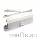 Дверные доводчики Доводчик МСМ 75 кг. (Белый) (артикул ЗТМСМ75кгБ) цена в розницу 1470 ру замок.su (изображение №1)