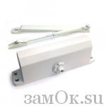 Дверные доводчики Доводчик МСМ 180 кг. (Белый) (артикул ЗТМСМ180кгБ) цена в розницу 2694 ру замок.su (изображение №1)