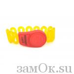Электронные замки Ключ для электронного замка красный с желтым (артикул 0423МЕ) цена в розницу 149 ру замок.su (изображение №1)