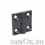 Петли Петля 082 40х40 черная (артикул 0529) цена в розницу 43 ру замок.su (изображение №1)