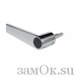 Фурнитура Ручка мебельная 057 /цв. хром/ (артикул 0223) цена в розницу 328 ру замок.su (изображение №1)