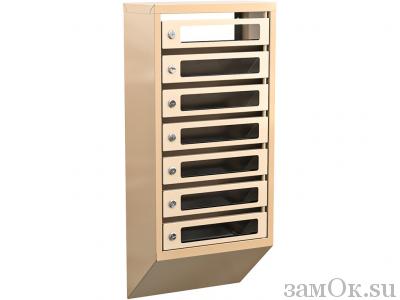 Почтовые ящики Ящик почтовый КПС-7 б/з (артикул ЗТКПС7) цена в розницу 22591 ру замок.su (изображение №1)