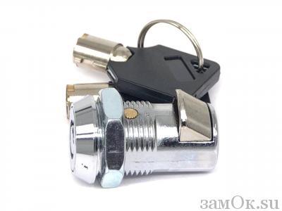 Почтовые замки Защелка автомат Замок торцевой, защелка автомат. 20 мм, ключ трубчатый (артикул 0137) цена в розницу 45 ру замок.su (изображение №4)