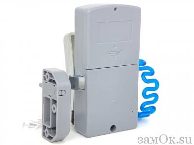 Электронные замки Замок мебельный, электронный TAB ID-001 ключ синий. (артикул 0430 С) цена в розницу 1150 ру замок.su (изображение №8)