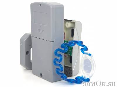 Электронные замки Замок мебельный, электронный TAB ID-001 ключ синий. (артикул 0430 С) цена в розницу 1150 ру замок.su (изображение №7)