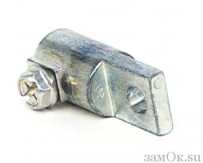 Фурнитура Держатель тяги 01-8 для замка ЗС-2 (артикул 0832) цена в розницу 32 ру замок.su (изображение №4)