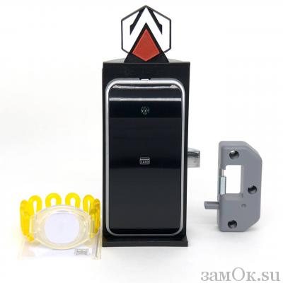 Электронные замки Замок мебельный, электронный TAB ID-003 ключ желтый (артикул 0432 Ж) цена в розницу 1381 ру замок.su (изображение №2)