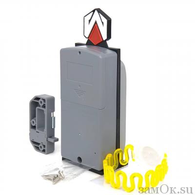 Электронные замки Замок мебельный, электронный TAB ID-003 ключ желтый (артикул 0432 Ж) цена в розницу 1381 ру замок.su (изображение №5)